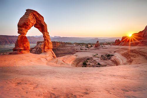Delicate Arch, Utah van
