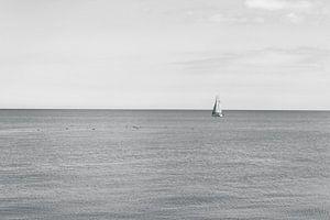 Varende Zeilboot van