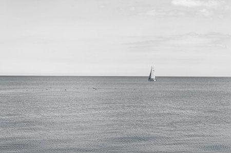 Varende Zeilboot