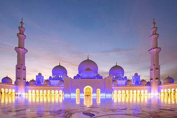 Sjeik Zayed moskee van
