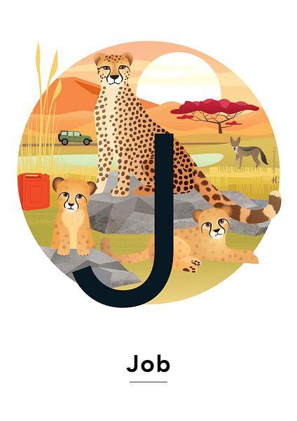 Plakat mit Jobnamen von Hannahland .