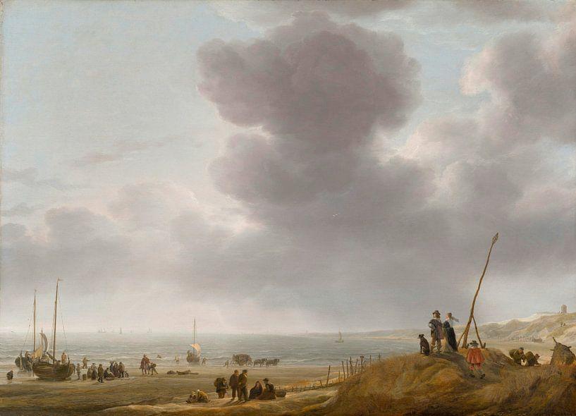 Strandzicht, Simon de Vlieger van Meesterlijcke Meesters
