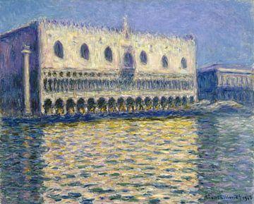 Claude Monet. Het Dogenpaleis in Venetië