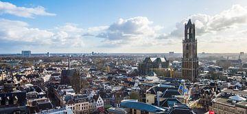 Domtoren vanaf de Neudeflat. sur De Utrechtse Internet Courant (DUIC)