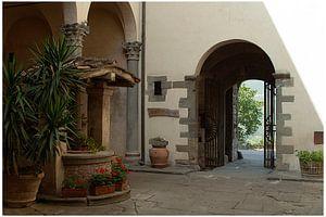Binnenplaats van Castello del Trebbio