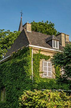 Oud burgemeestershuis Kerkstraat Valkenburg Limburg Nederland van Evelien Heuts-Flachs