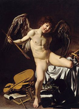 Caravaggio, Amor victorious, 1602 sur
