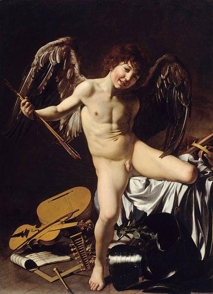 Caravaggio, Amor victorious, 1602