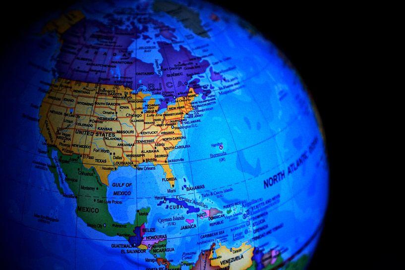 VS en De Aarde van World Maps