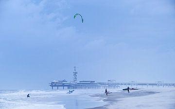 Scheveningen beach von Nico Garstman