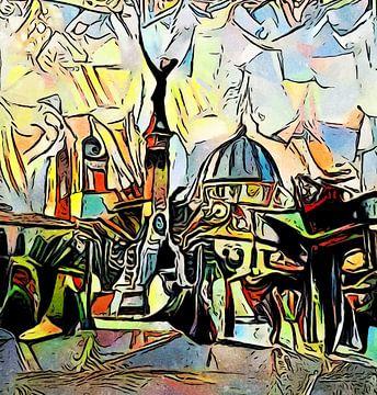 Marktplatz in El Salvador von zam art