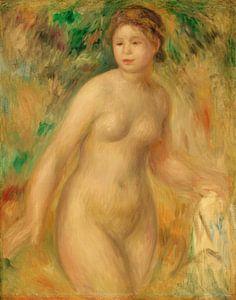 Pierre-Auguste Renoir. Naakt, 1895,