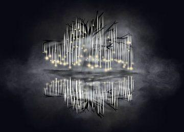 Zielenboom van Monique Schilder