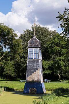 Dakruiter in het Strikledepark, Schiedam sur Jan Sluijter