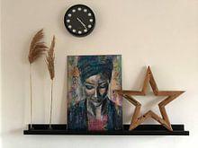 Kundenfoto: Listen von Flow Painting, auf poster