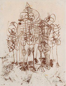 Skelette, Walter Kurt Wiemken