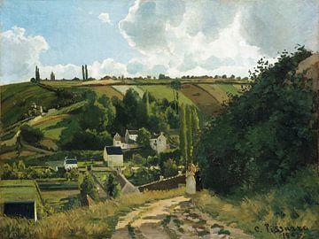 Jalais Hill, Pontoise, Camille Pissarro sur