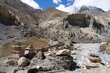 Stupa im Himalaja-Nepal von Tessa Louwerens