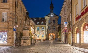 Oud stadhuis in Bamber van Rainer Pickhard