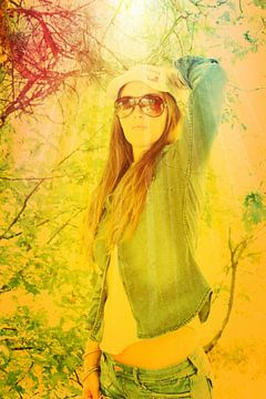 Sunshine model van Iris van Bokhorst