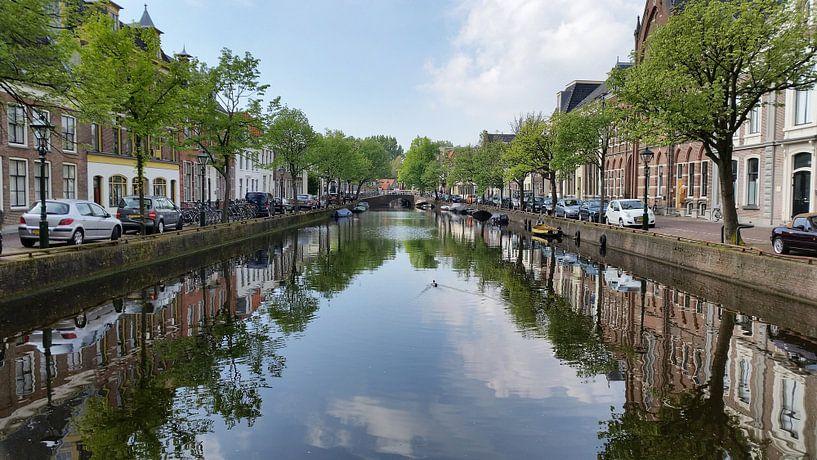 Canal d'Alkmaar sur Paul Franke