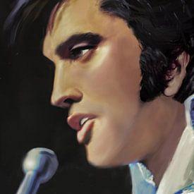 Elvis Presley sur Christine Nöhmeier