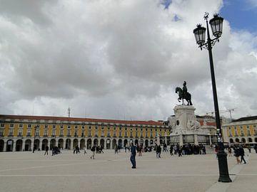 Praça do Comércio, Lissabon, Portugal von Liza Foppen