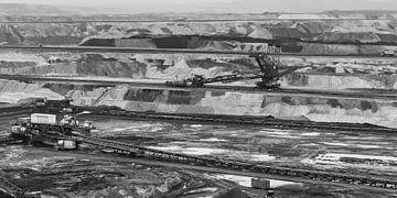 Tagebau Inde von Rob Boon