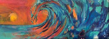 Breaking the wave van Lisa DC