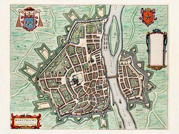 Karte Maastricht - 1649