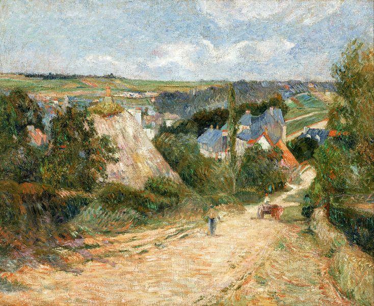 Paul Gauguin. Entrance to the Village of Osny van 1000 Schilderijen