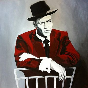 Frank Sinatra von Helia Tayebi Art