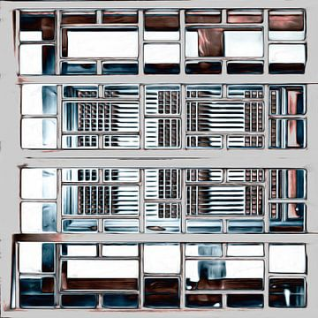Fenster XXVII von Maurice Dawson