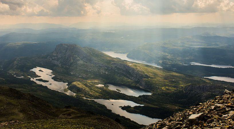 Gaustatoppen, Norwegen von Ilse Hofman