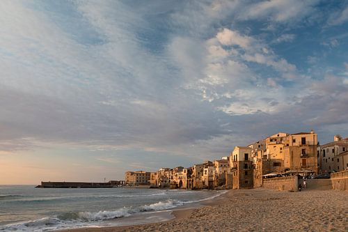 Cefalu op Sicilië van