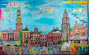 Groningen stad van Janet Edens