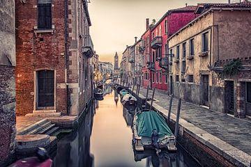 Venetië-kanaal van Manjik Pictures