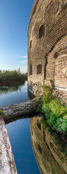 Fort bij Uitermeer, Weesp, Noord Holland, Nederland van Martin Stevens