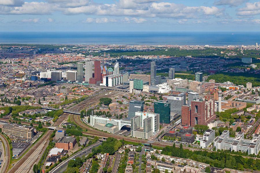 Luchtfoto Den Haag