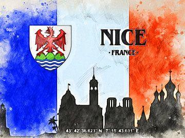 Nizza von Printed Artings