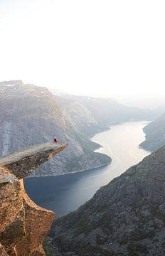 Trolltunga in Noorwegen van