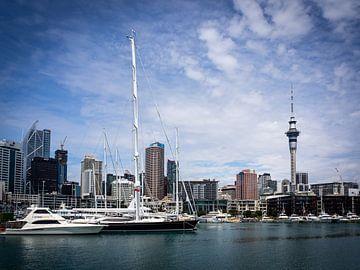Skyline von Auckland von Rik Pijnenburg