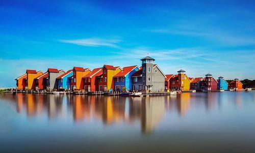 Gekleurde huisjes van