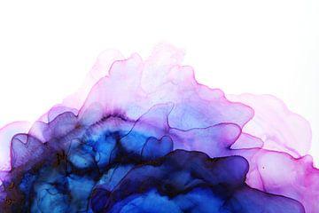 Blue Nebula 1 /Blauwe Nevel 1 /Blauer Nebel 1 van Joke Gorter