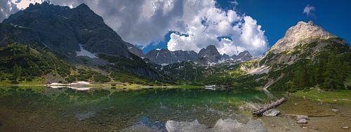 Seebensee in Tirol - Panorama van