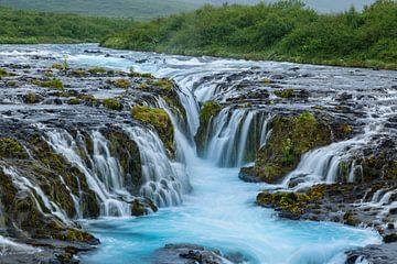 Bruarfoss waterfall Iceland sur Menno Schaefer