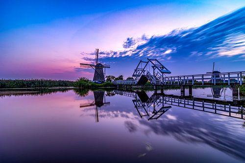 Windmühle und Zugbrücke von Rene Siebring
