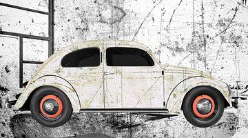 VW originele kever in grafiet van aRi F. Huber
