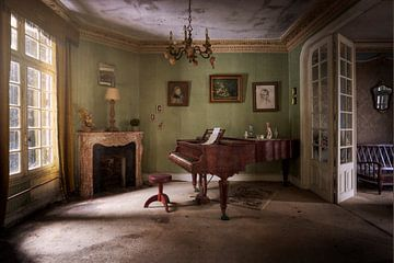 piano désert sur Kristof Ven
