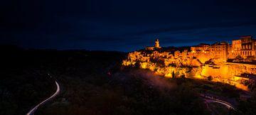 Nacht in Pitigliano - Toscane sur Damien Franscoise